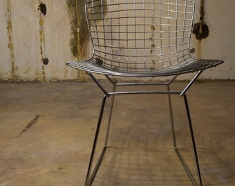 Vintage Modern Knoll Side Chair by Harry Bertoia