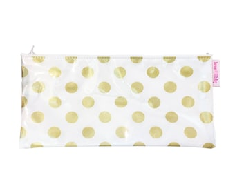 Gold Spot Pencil Case
