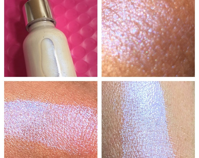 INVISIBLE BLUE - SkinLite Liquid Highlighter / illuminator Drops - Sky Blue