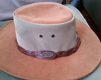 Australian, outback, cowboy, hat, leather, suede, rodeo, hiking, camping, nature, walkabout