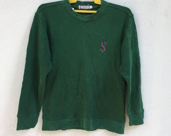 Rare!!vintage YSL yves saint laurent sweatshirt size M
