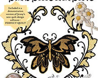 """Jenny Haskins """"Laura's Vintage Embellishments"""" machine embroidery design collection - SALE"""