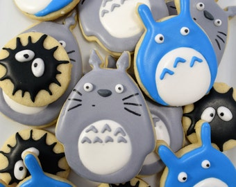 Totoro Themed Cookies!