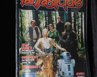 Return of the Jedi Issue of L'Ecran Fantastique Magazine - 1983