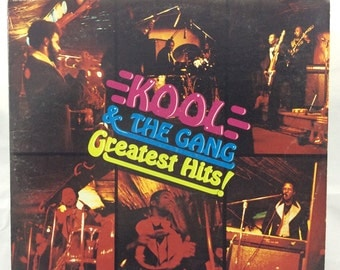Kool and The Gang - Greatest Hits! - LP vinyl record - 1975 DeLite Records
