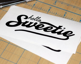 Dr. Who Sticker | Doctor Who Sticker | Hello Sweetie Decal