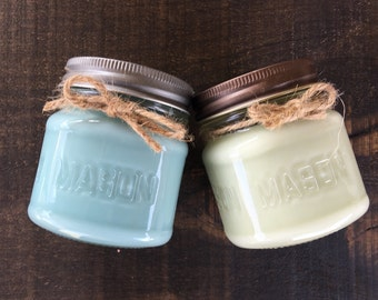 2 - 10 oz soy candles