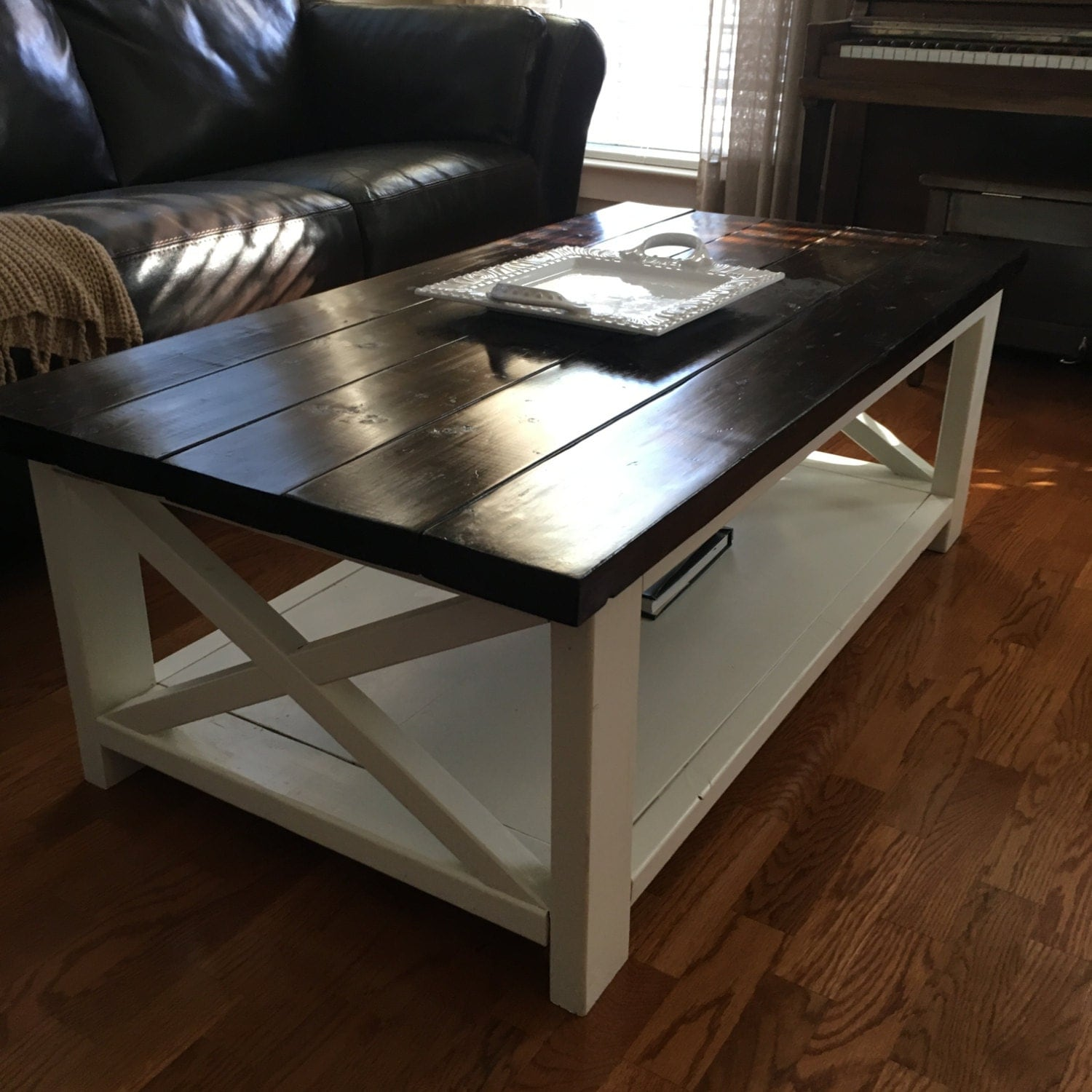 Farmhouse Rustic X Coffee Table Atlanta Only