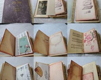 Following The Star: An Altered Book Junk Journal