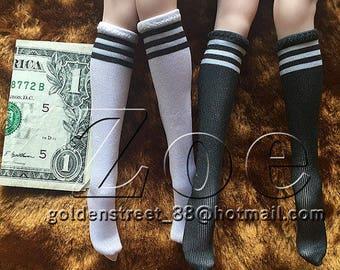 1/6 scale socks phicen socks for 30cm toys for phicen lovely doll [stockings only]