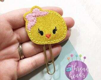 Glitter Chick Planner Clip/Bookmark