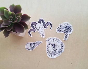 Bag of Bones Sticker Pack