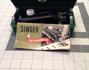 Vintage Singer Button Hole Attachment for Sewing Macine