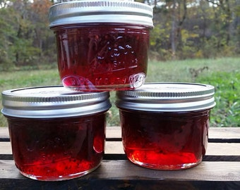 Blackberry Jalapeño Jelly - Half Pint