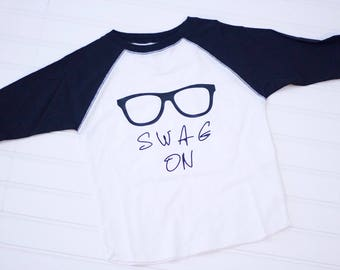 Swag - Swag On Baseball TShirt - Toddler Shirt
