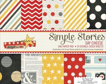6x6 Simple Stories Scrapbook Paper Pad
