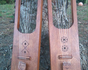 6 string germanic lyre