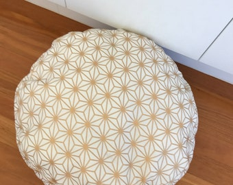 Gold Lattice Dog Bed