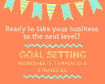 Goal Setting Worksheets, Templates and Checklists