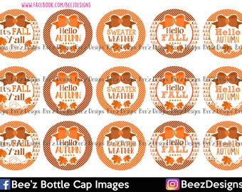INSTANT DOWNLOAD- Sweater Weather- 1inch Bottlecap Images- 4x6 Digital Collage Sheet