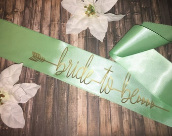 Affordable Bride-To-Be Sash