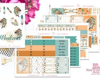 Native Beauty Weekly Sticker Kit