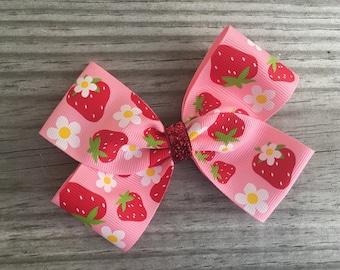 Strawberry Bow