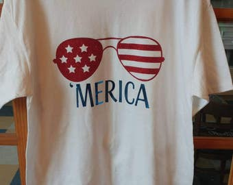 Merica Adult size T-shirt