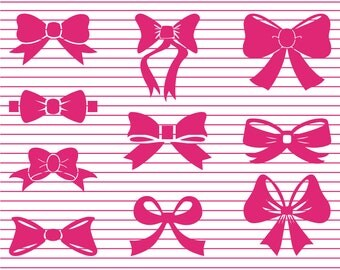 Bow tie cut file, Bow SVG Cut File,  Bow DFX Cut file for Cricut, Bow Cut file for Silhouette Cameo, Bow vector file