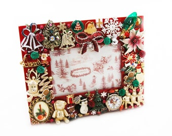 Christmas-Themed Picture Frame