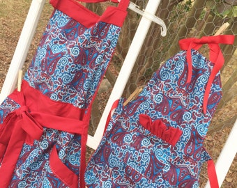 Mother-Daughter Apron Set Ready to Ship!