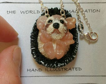 polymer clay hedgehog pendant . hedgehog jewelery.cute animal.Buy Directly From Artist.fair trade.handmade.