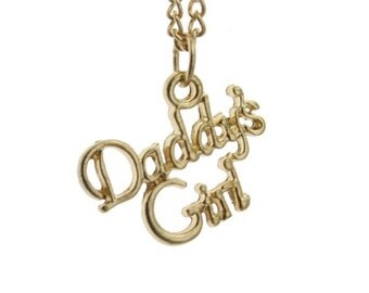18K Gold Plated Daddy's Girl Necklace