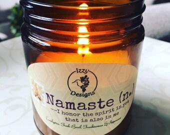 8 oz Namaste Candle