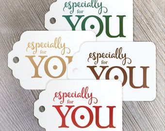 Christmas tags, holiday tags, gift tags, Wish You a Merry Christmas