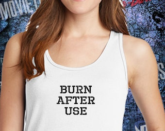 Burn After Use - Harley Quinn - Suicidé Squad - Ladies Tank Top