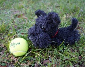 Crochet Dog Scottish Terrier