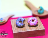 Colourful Doughnut Pin/Brooch
