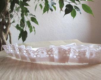 Lace headband English vintage upcycling