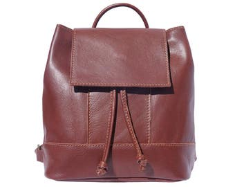RESERVED LISTING - SALE Brown Soft Leather Backpack