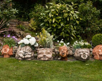 Pots of Mythology Artisan Plant Pots Planters