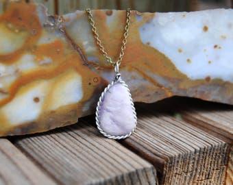 Lavender Gemstone Necklace