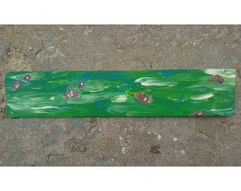 Lily Pad Painting Wall Art Decor