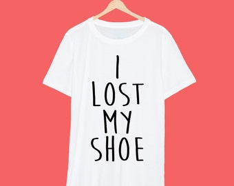 Sam Winchester I Lost My Shoe Reference Supernatural T Shirt