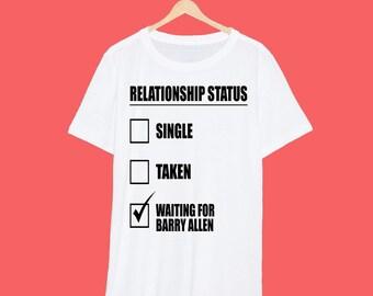 Barry Allen 'Relationship' The Flash T Shirt