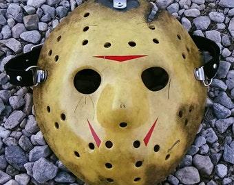 Friday the 13th part 8: Jason takes Manhattan, hockey mask replica