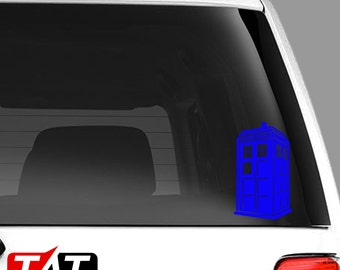 Doctor Who 3D Tardis Decal