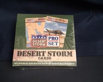Desert Storm Trading Cards-Sealed