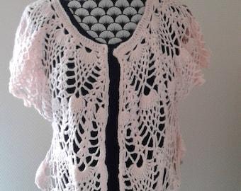 bolero crochet woman