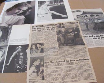 PRINCESS  GRACE KELLY  clippings  #0512